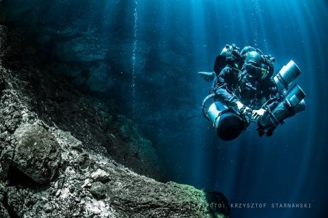 Nowy-rekord-Polski-w-nurkowaniu-jaskiniowym-Krzysztofa-Starnawskiego